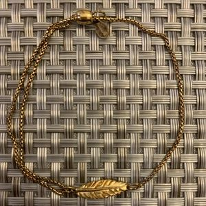 Alex and Ani Feather Pull Chain Bracelet